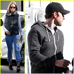 Emily Blunt & John Krasinski: Workout Couple!