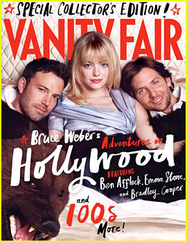 Emma Stone & Ben Affleck Cover Vanity Fair's Hollywood Edition