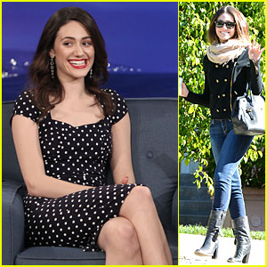 Emmy Rossum: Conan O'Brien is My Favorite Ginger!