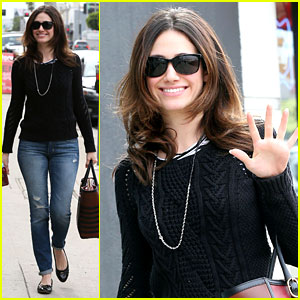 Emmy Rossum: 'Sentimental Journey' In Stores Next Week!