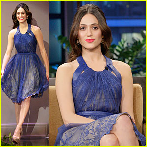 Emmy Rossum: 'Tonight Show with Jay Leno' Appearance!