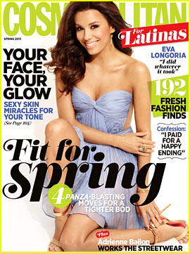 Eva Longoria Covers 'Cosmopolitan for Latinas' Spring 2013