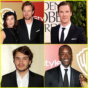 Ewan McGregor & Benedict Cumberbatch - Golden Globes 2013
