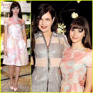Felicity Jones: 'Cheerful Weather for the Wedding' Premiere!