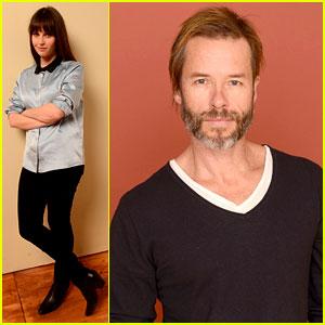 Felicity Jones & Guy Pearce: 'Breathe In' at Sundance!