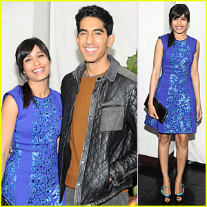 Freida Pinto & Dev Patel: 'W' Magazine's Pre-Golden Globes Party!