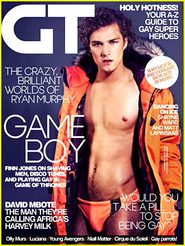 Game of Thrones' Finn Jones: Shirtless & Speedo for 'Gay Times'