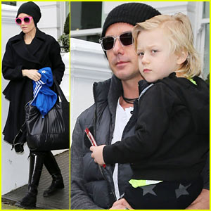 Gwen Stefani & Family: Later, London!
