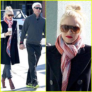 Gwen Stefani & Gavin Rossdale: Monday Coffee Stop!