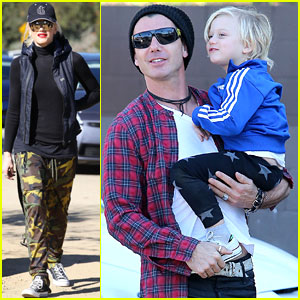 Gwen Stefani & Gavin Rossdale: Runyon Canyon with the Kids