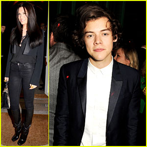 Harry Styles & Jessie J: GQ's London Collections: Men Party!
