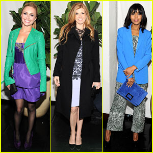 Hayden Panettiere & Connie Britton: 'W' Magazine's Pre-Golden Globes Party!