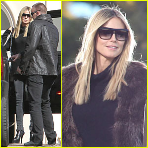 Heidi Klum: 'Germany's Next Top Model' Filming!