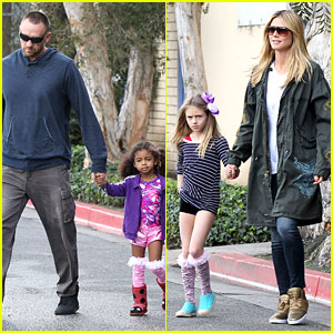 Heidi Klum & Martin Kirsten: Family Day with the Kids!