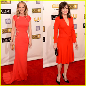 Helen Hunt & Sally Field - Critics' Choice Awards 2013