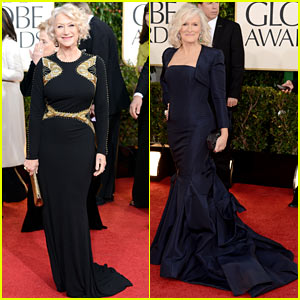 Glenn Close: 'Drunk' at Golden Globes with Helen Mirren!