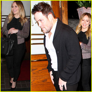 Hilary Duff & Mike Comrie: Madeo Dinner Couple