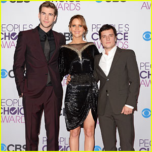 Liam Hemsworth & Josh Hutcherson - People's Choice Awards 2013