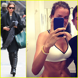Irina Shayk: Flat Tummy SoulCycle Workout!
