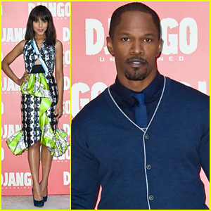 Jamie Foxx & Kerry Washington: 'Django Unchained' Rome Photo Call!