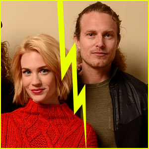 January Jones Splits with Noah Miller?