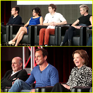 Jason Bateman & Portia de Rossi: 'Arrested Development' TCA Panel!