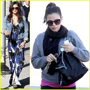 Jenna Dewan: Lunchtime in Beverly Hills is Not Good For My Hormones!