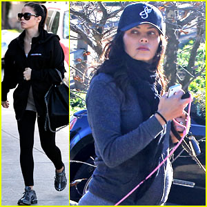 Jenna Dewan Shows Off Growing Baby Bump on Dog Walk