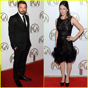Jennifer Garner & Ben Affleck - Producers Guild Awards 2013