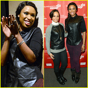 Jennifer Hudson & Alicia Keys: 'Defeat of Mister and Pete' Screening!