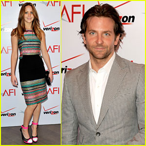 Jennifer Lawrence & Bradley Cooper - AFI Awards 2013