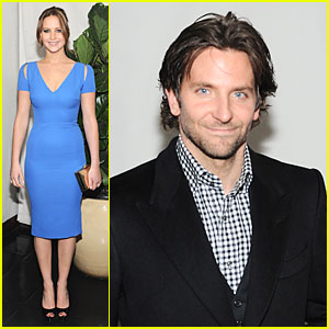 Jennifer Lawrence & Bradley Cooper: 'W' Magazine's Pre-Golden Globes Party