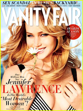 Jennifer Lawrence Covers 'Vanity Fair' February 2013