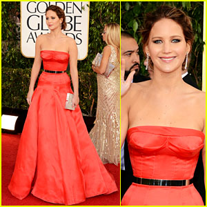 Jennifer Lawrence - Golden Globes 2013 Red Carpet