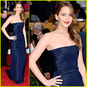 Jennifer Lawrence - SAG Awards 2013 Red Carpet