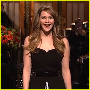 Jennifer Lawrence: 'SNL' Opening Monologue - Watch Now!
