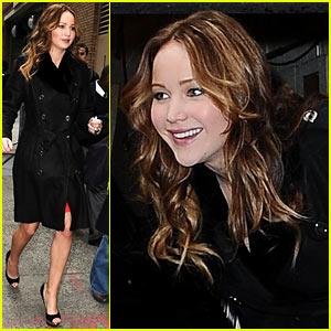 Jennifer Lawrence Steps Out Post-Golden Globe Win!