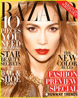Jennifer Lopez Covers 'Harper's Bazaar' February 2013