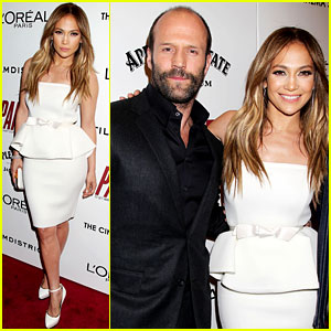 Jennifer Lopez & Jason Statham: 'Parker' Premiere in NYC!