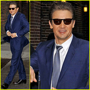 Jeremy Renner: 'Late Show' Appearance!