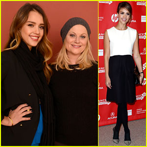 Jessica Alba & Amy Poehler: 'A.C.O.D.' Sundance Premiere!