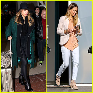 Jessica Alba: Paris Vacation for Pal Lauren's Birthday!