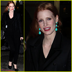 Jessica Chastain: Back to Work After New Year's Eve!