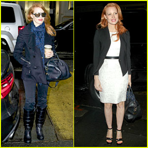 Jessica Chastain: 'Daily Show' Appearance!