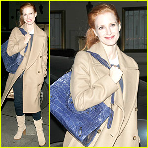 Jessica Chastain: 'Late Show with David Letterman' Appearance Next Week!