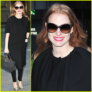 Jessica Chastain: 'Live with Kelly & Michael' Chat Next Week!