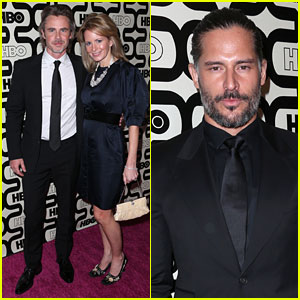 Joe Manganiello & Sam Trammell - Golden Globes Parties 2013