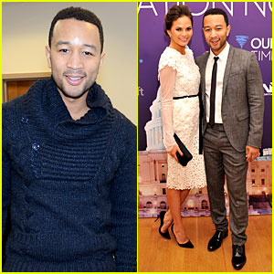 John Legend & Chrissy Teigen: Inaugural Youth Ball 2013!