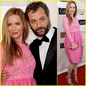 Leslie Mann & Judd Apatow - Critics' Choice Awards 2013