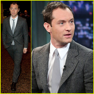 Jude Law: 'Late Night with Jimmy Fallon' Appearance!